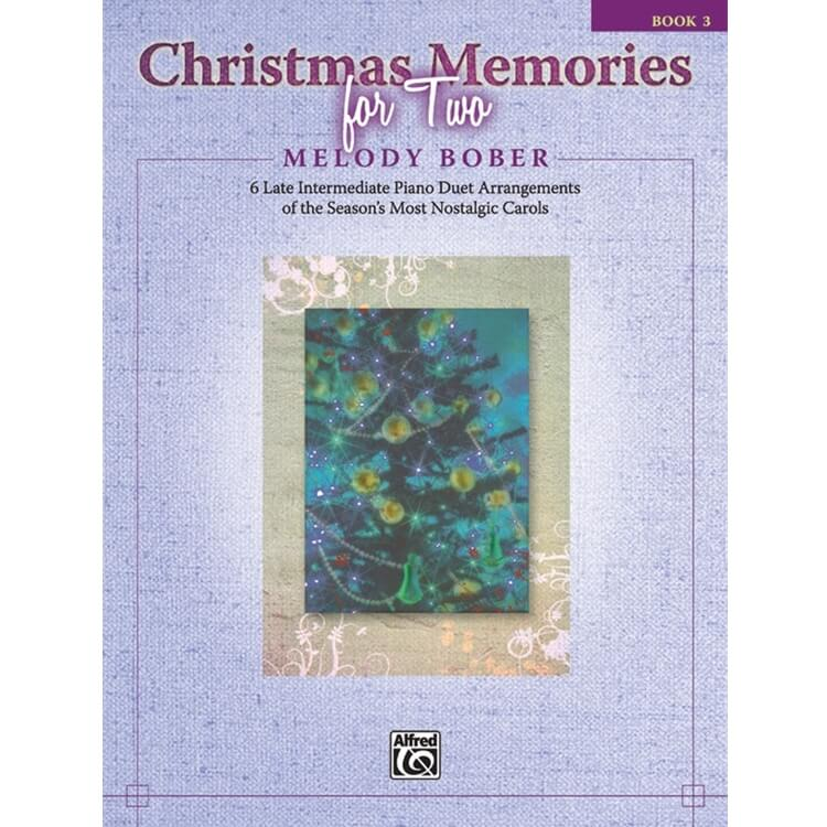 Christmas Melodies for Two, Book 3 - 1 Piano 4 Hands