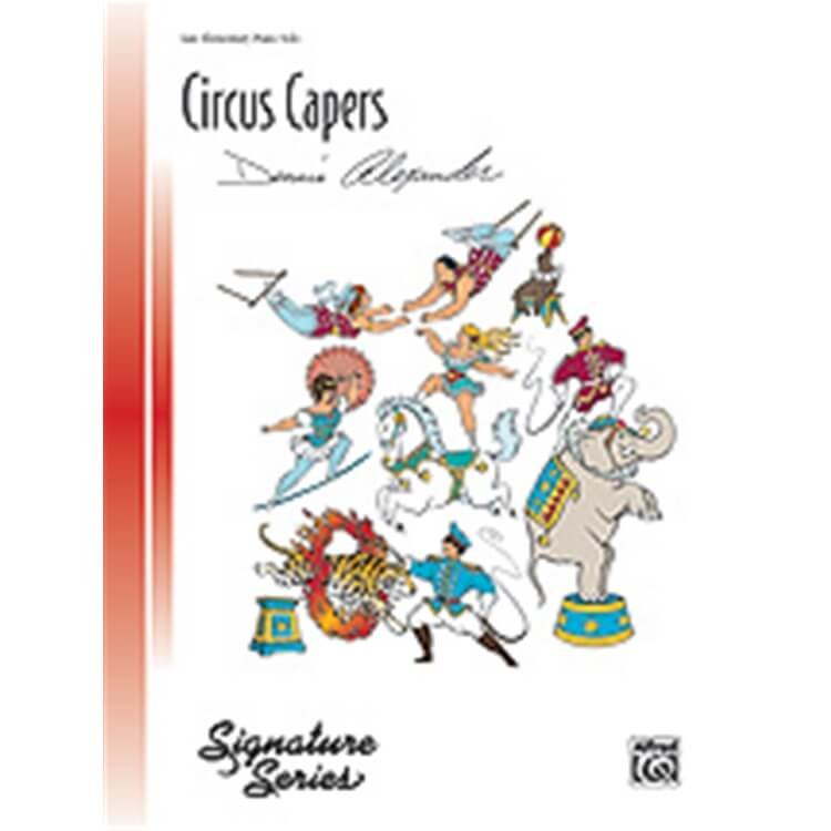Circus Capers - Piano