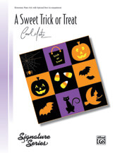 Sweet Trick or Treat - Piano