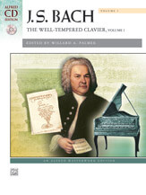 Well-Tempered Clavier, Vol. 1 (Bk/CD) - Piano