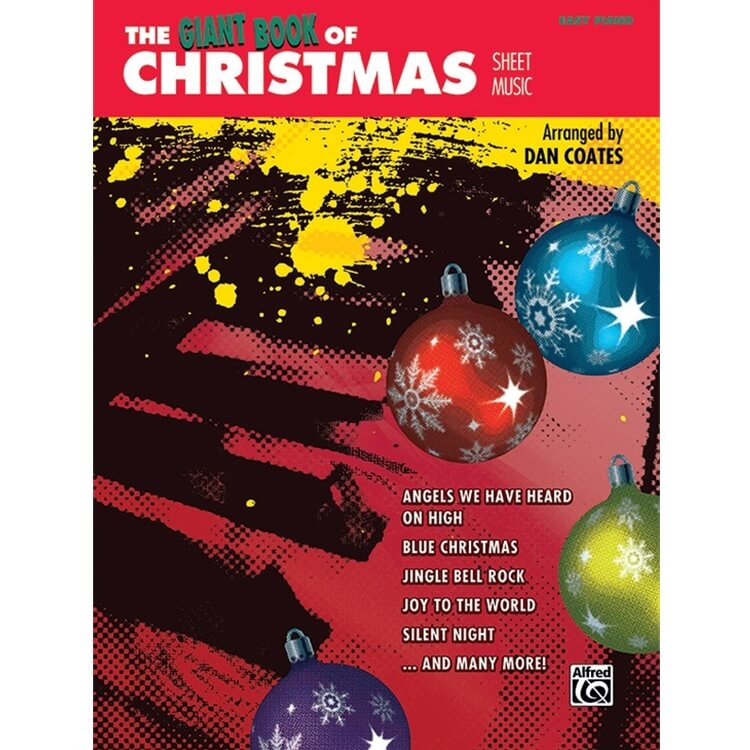 Giant Book of Christmas Sheet Music - Easy Piano