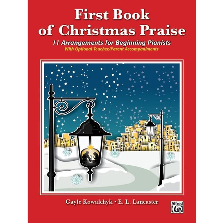 First Book of Christmas Praise - Piano