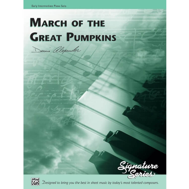 March of the Great Pumpkins - Early Intermediate Piano
