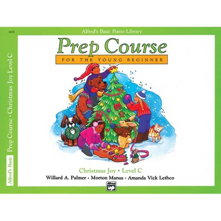 Alfred's Prep Course: Christmas Joy, Level C - Piano
