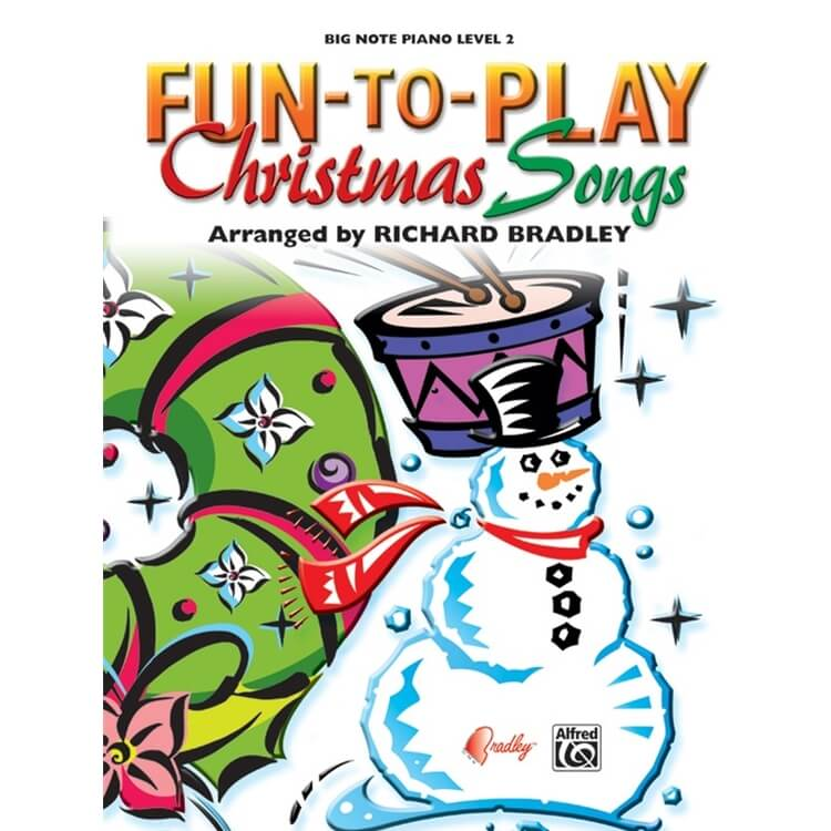 Fun-to-Play Christmas Songs - Big-Note Piano