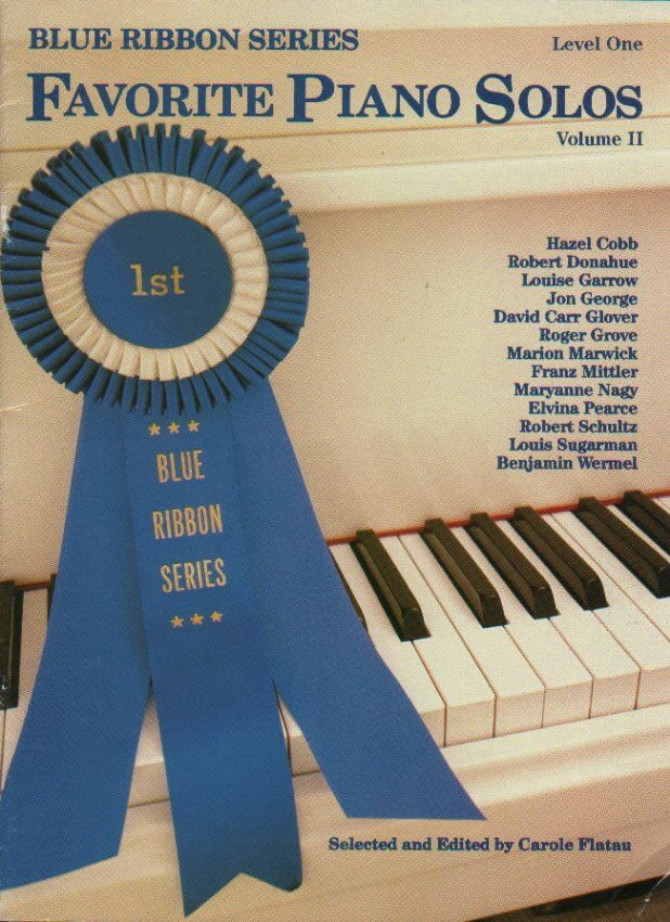 Blue Ribbon Series: Favorite Piano Solos, Lvl. 1, Vol. 2 - Piano