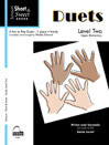 Schaum Short & Sweet: Duets, Level 2 - 1 Piano 4 Hands