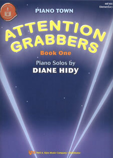 Attention Grabbers, Book 1 - Piano