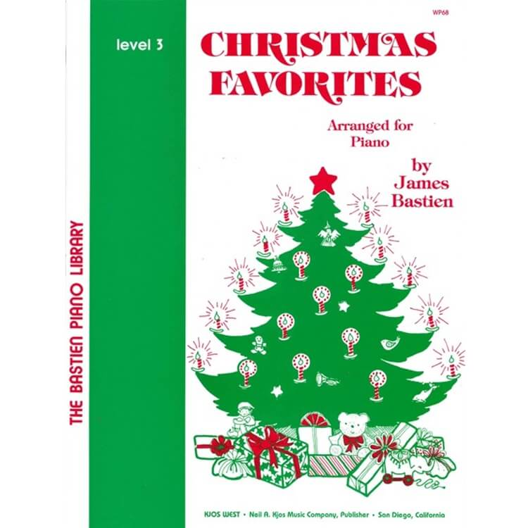 Christmas Favorites, Level 3 - Piano