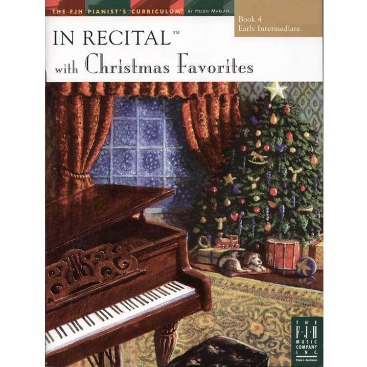 In Recital with Christmas Favorites, Book 4 - Piano
