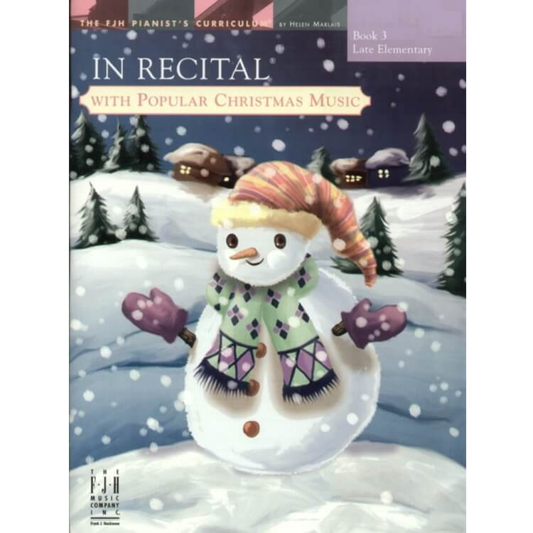 In Recital with Popular Christmas Music, Book 3 - Piano
