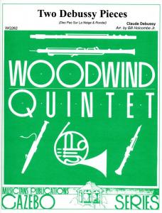Two Debussy Pieces - Woodwind Quintet