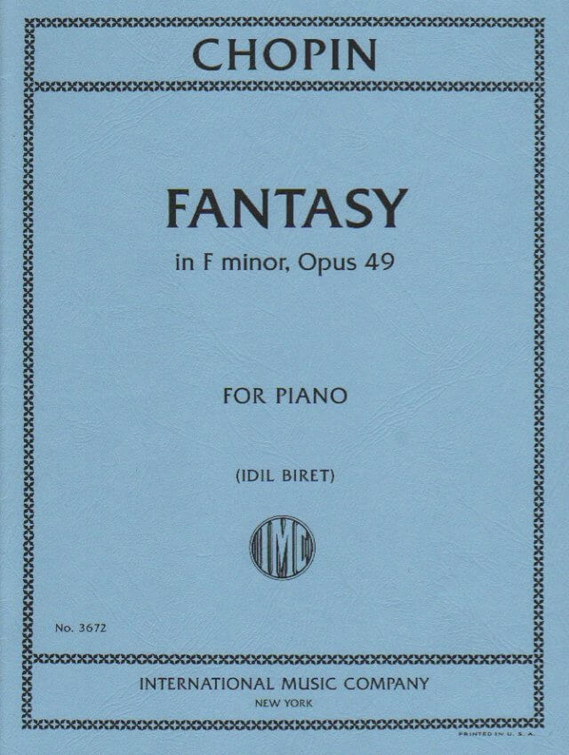 Fantasy in F minor, Op. 49 - Piano