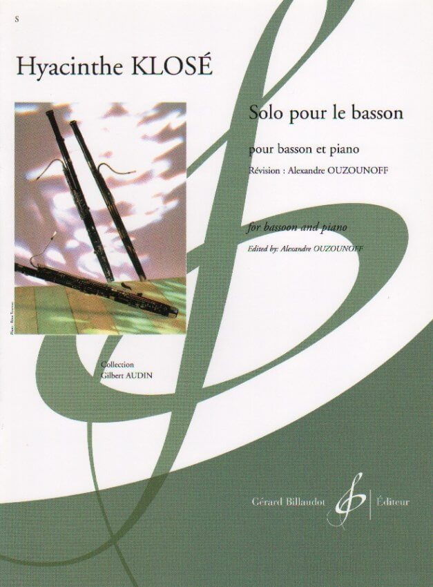 Solo Pour Le Basson - Bassoon and Piano