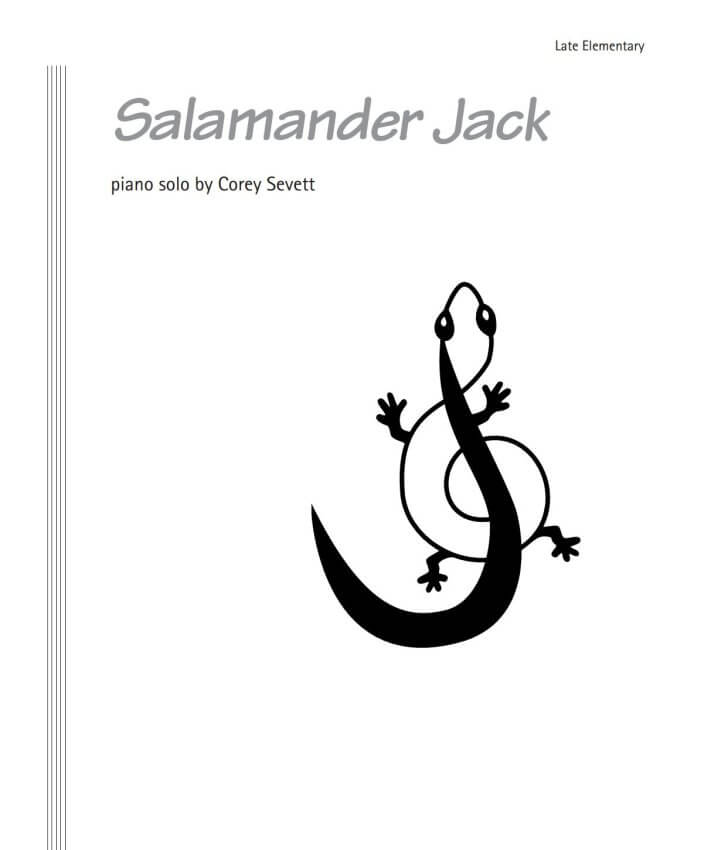 Salamander Jack - Piano Teaching Pieces