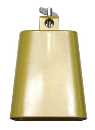 5.5 in Gold-Tone Cowbell