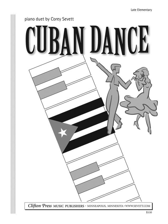 Cuban Dance - 1 Piano 4 Hands