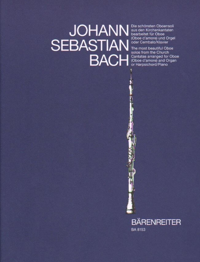 Most Beautiful Oboe Solos from Church Cantatas - Oboe and Piano