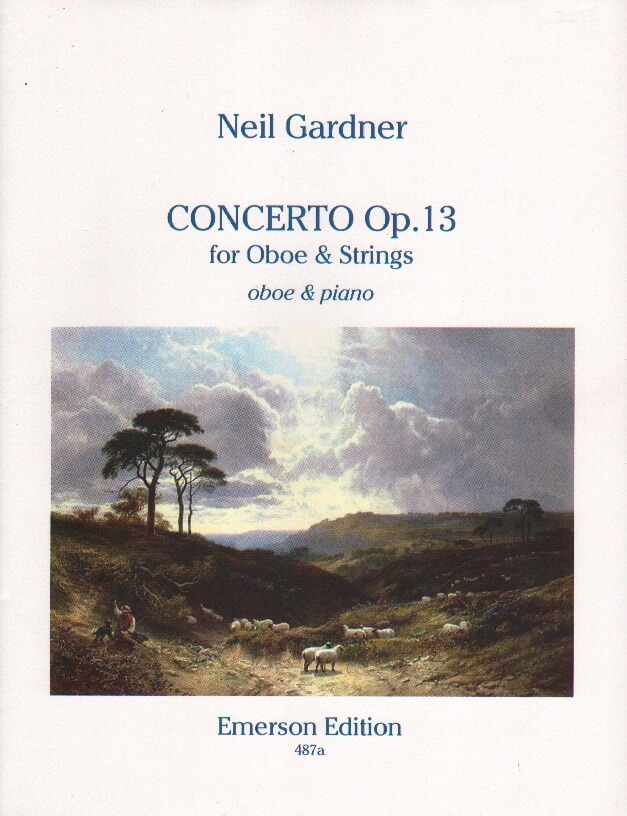 Concerto Op. 13 - Oboe and Piano