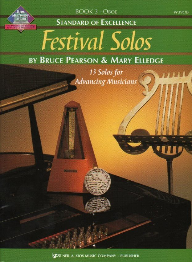 Festival Solos, Book 3 - Oboe Part