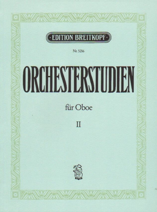 Orchestral Excerpts, Vol. 2 - Oboe
