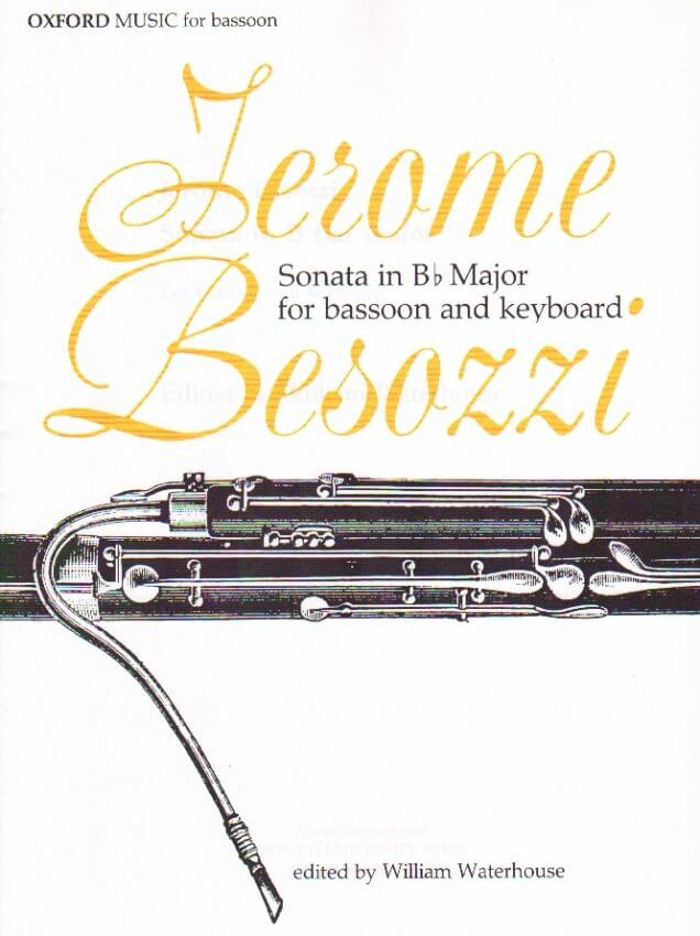 Sonata in B-flat Major - Bassoon and Piano