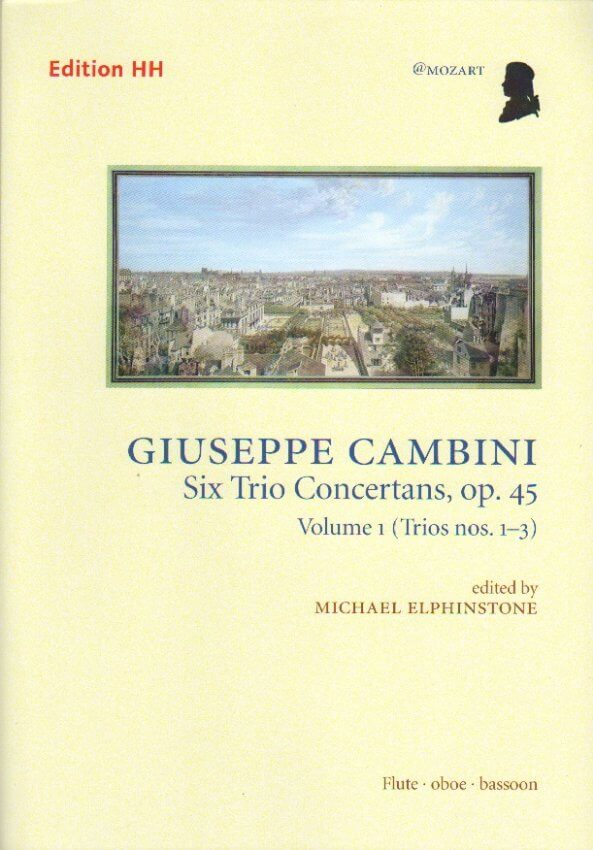 6 Trio Concertans, Op. 45 Vol. 1 - Flute, Oboe, and Bassoon