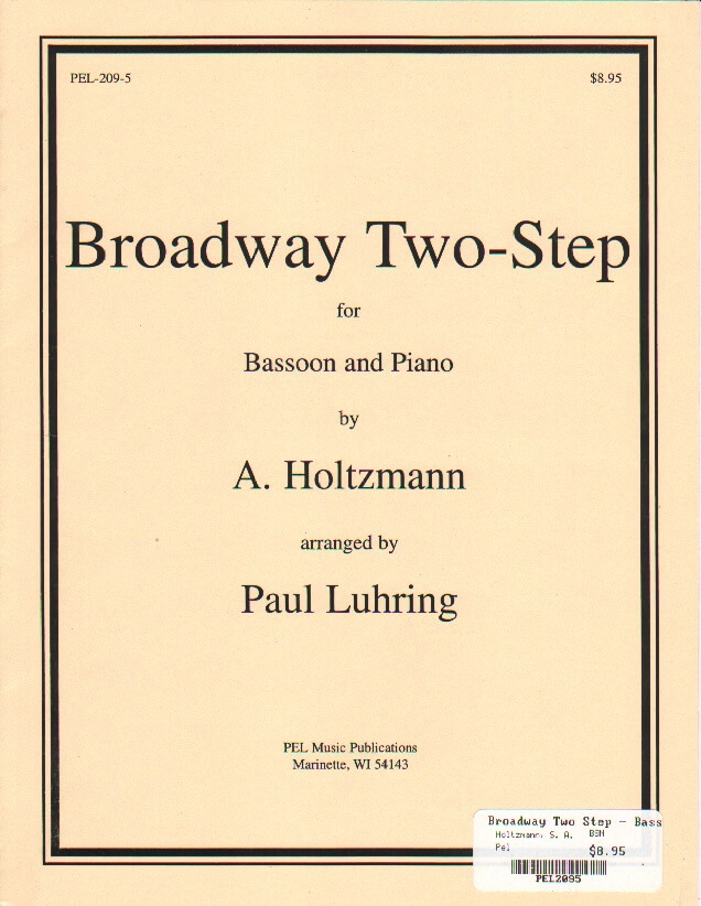 Broadway Two-Step - Bassoon and Piano