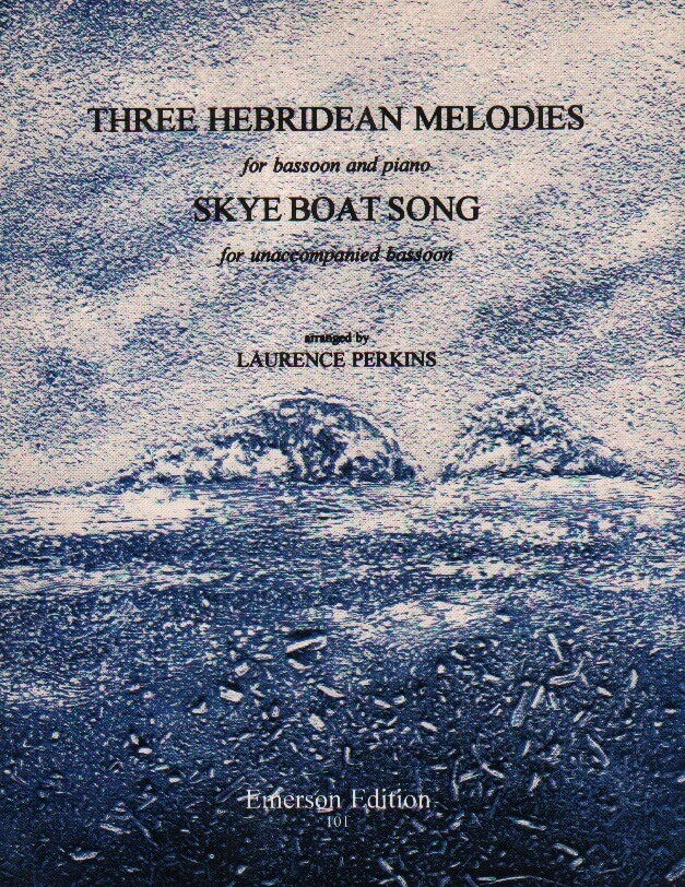 3 Hebridean Melodies and Skye Boat Song - Bassoon (and Piano)