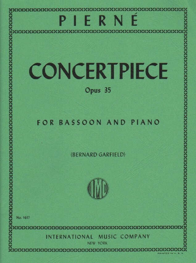 Concertpiece Op. 35 - Bassoon and Piano