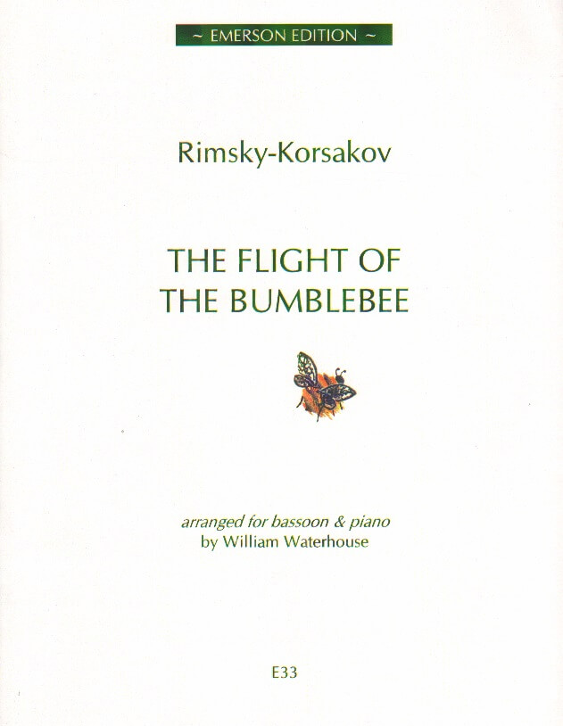 Flight of the Bumblebee, The - Bassoon and Piano