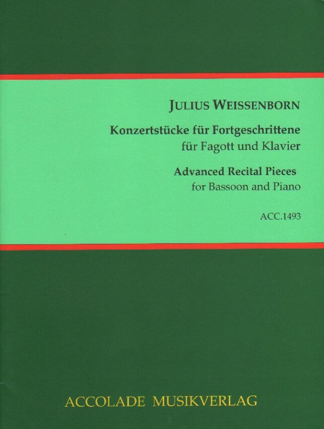 Advanced Recital Pieces, Vol. 2 - Bassoon and Piano