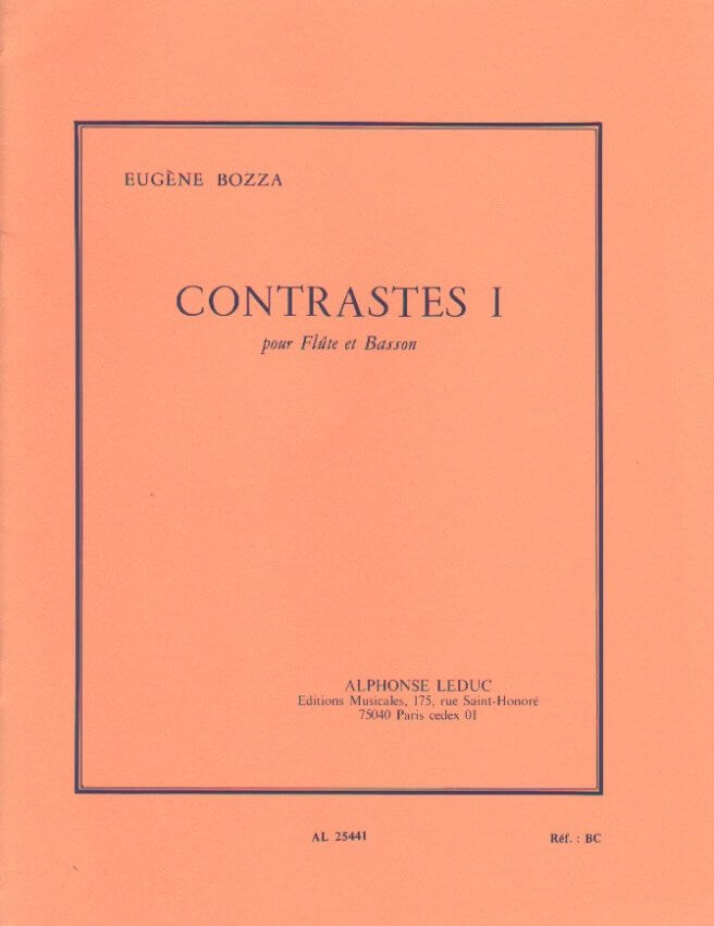 Contrastes 1 - Flute and Bassoon