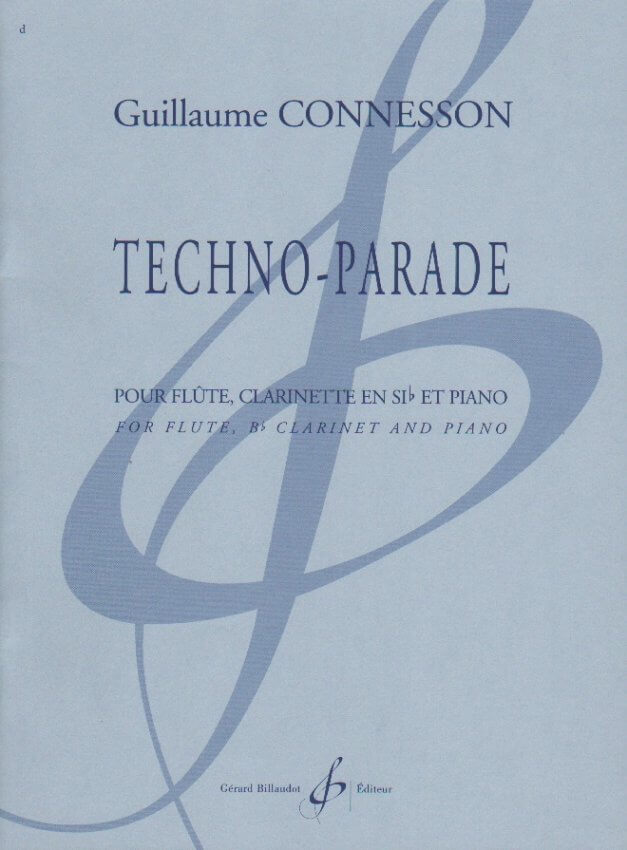Techno-Parade - Flute, Clarinet, and Piano