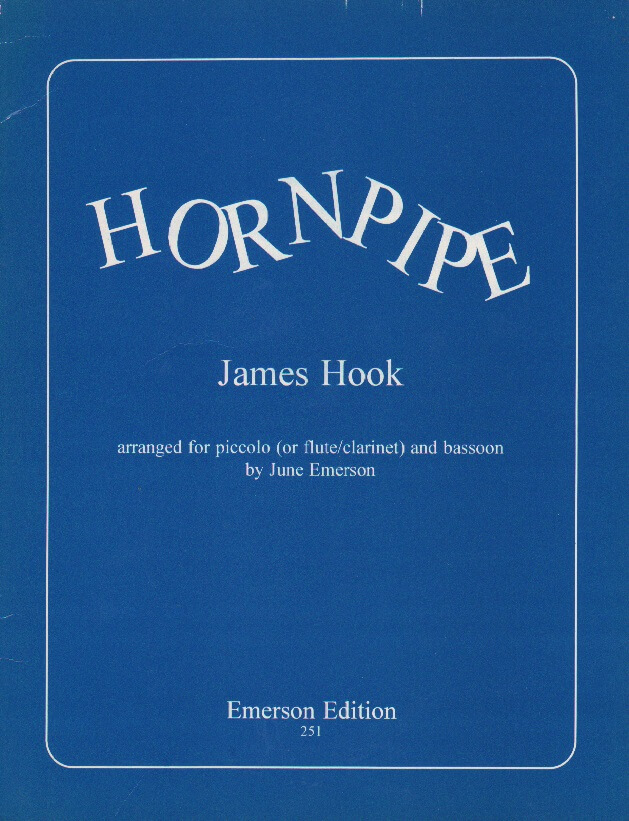 Hornpipe - Piccolo (or Flute or Clarinet) and Bassoon