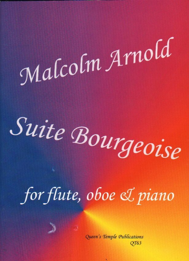 Suite Bourgeoise - Flute, Oboe (or Clarinet), and Piano