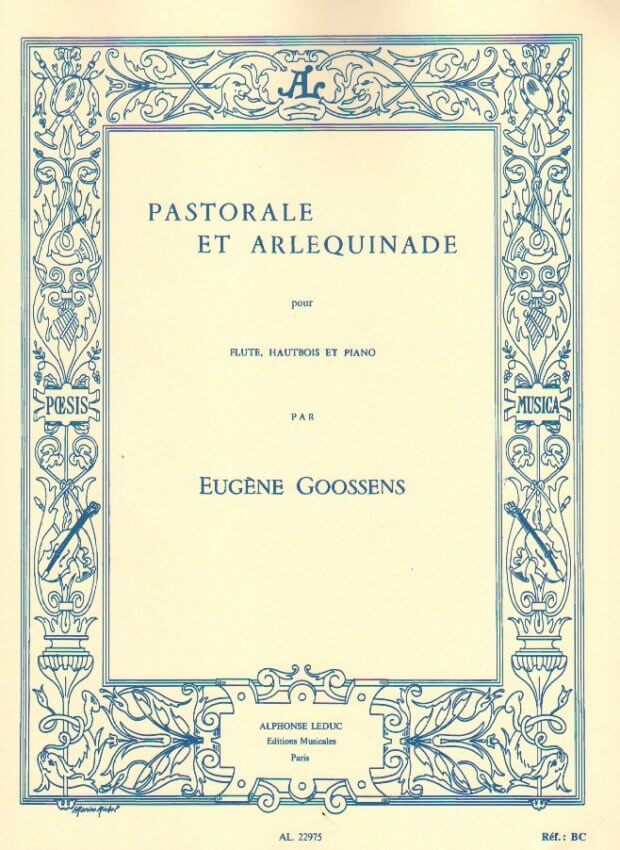 Pastorale et Arlequinade - Flute, Oboe, and Piano