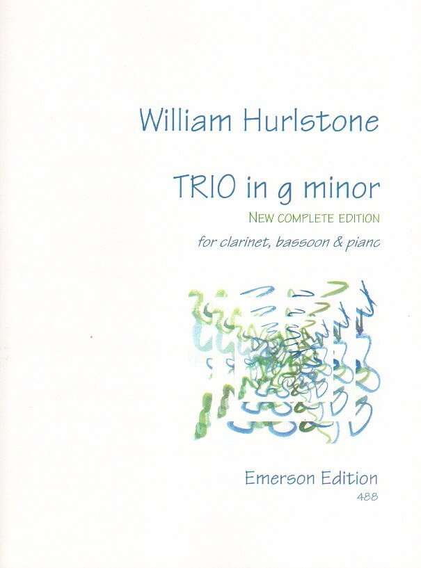 Trio in G Minor - Clarinet, Bassoon, and Piano