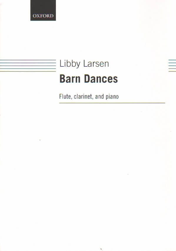 Barn Dances - Flute, Clarinet, and Piano
