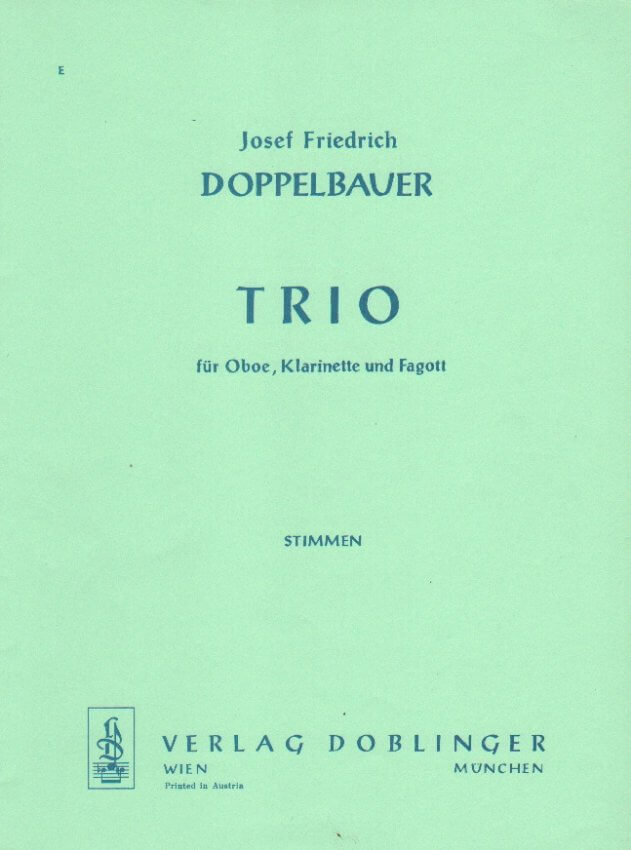 Trio - Oboe, Clarinet, and Bassoon