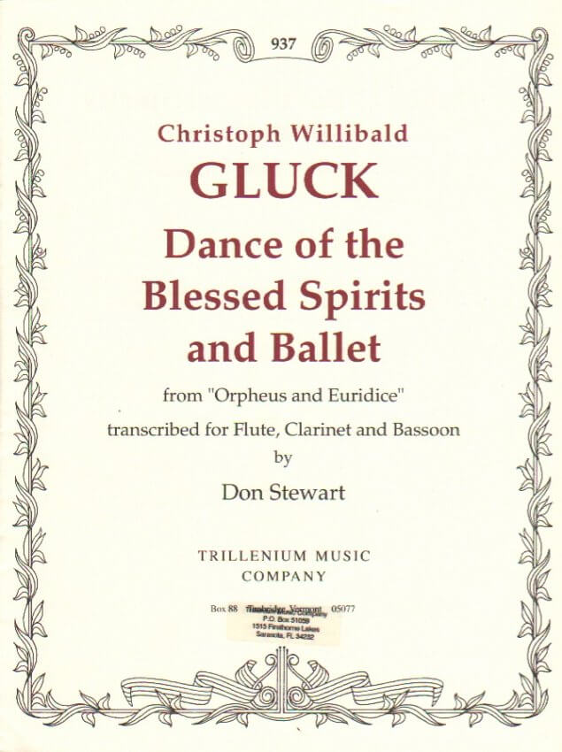 Dance of the Blessed Spirits and Ballet - Flute, Clarinet, and Bassoon