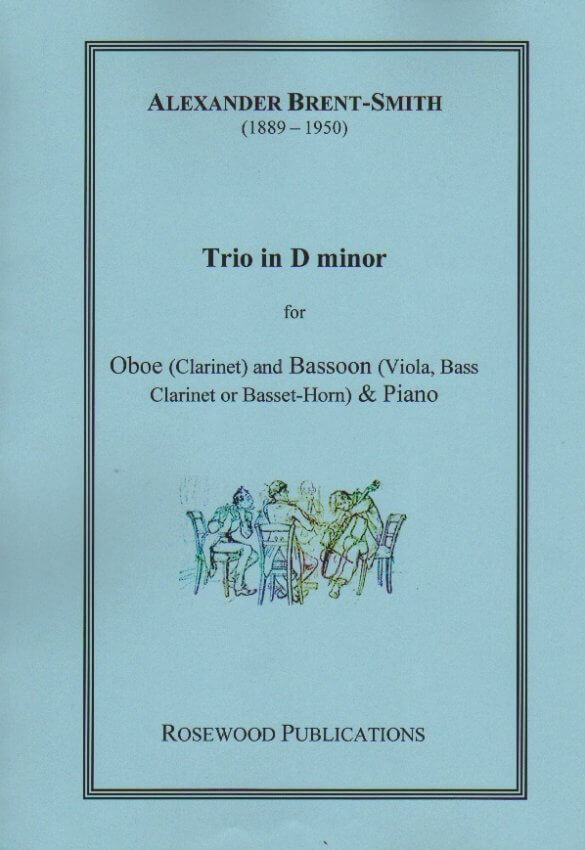 Trio in D Minor - Oboe (or Clarinet), Bassoon (or Viola, Bass Clarinet, or Basset Horn), and Piano
