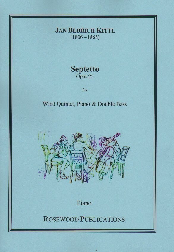 Septet, Op. 25 - Woodwind Quintet, Piano and String Bass
