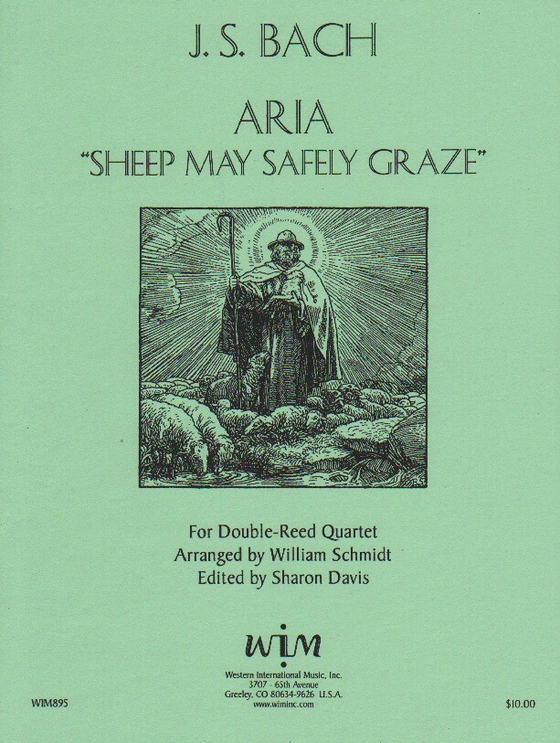Sheep May Safely Graze - 2 Oboes, English Horn, and Bassoon