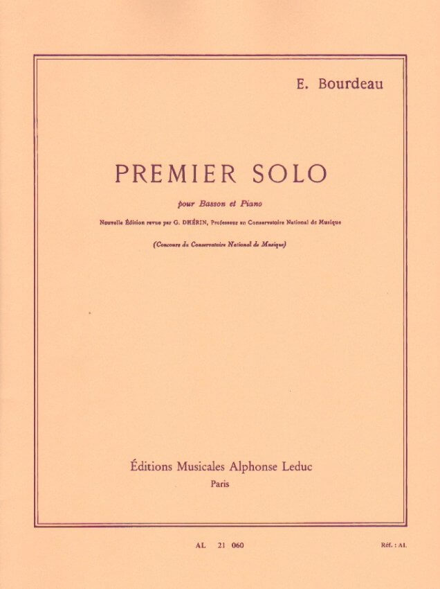 Premier Solo - Bassoon and Piano