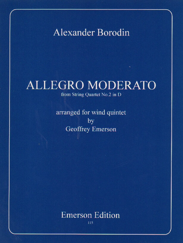 Allegro Moderato from String Quartet No. 2 - Woodwind Quintet