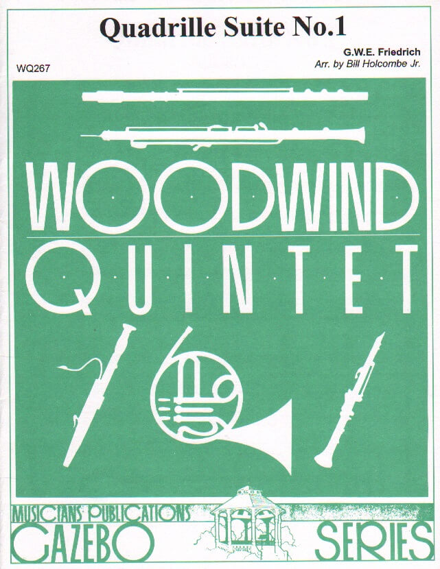 Quadrille Suite No. 1  - Woodwind Quintet