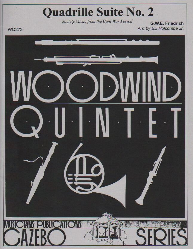 Quadrille Suite No. 2 - Woodwind Quintet
