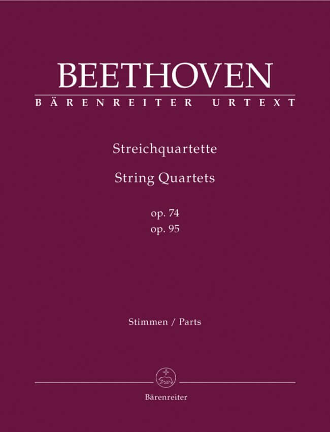 String Quartets Op. 74 and Op. 95 - Set of Parts