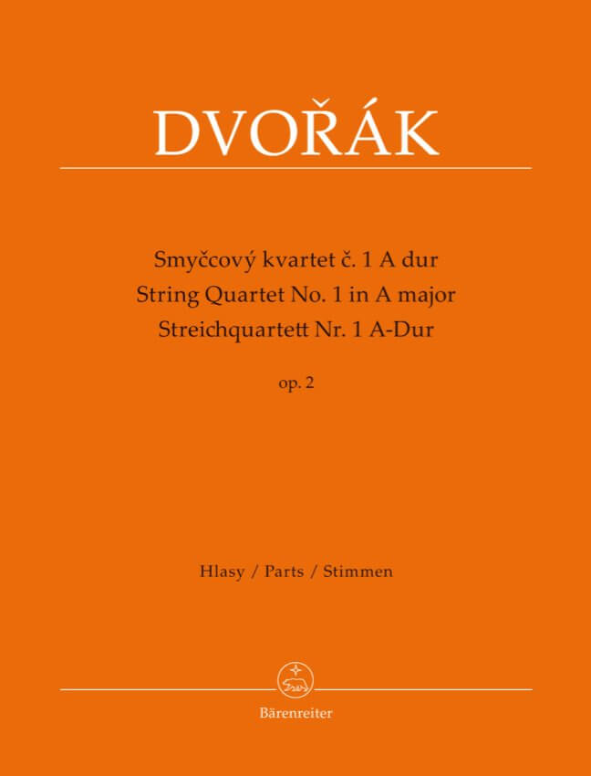 Quartet No. 1 in A major, Op. 2 - String Quartet (Set of Parts)